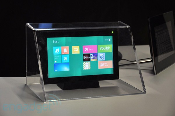 NVIDIA Kal-El se deja ver en funcionamiento en un tablet con Windows 8 - BUILD 2011