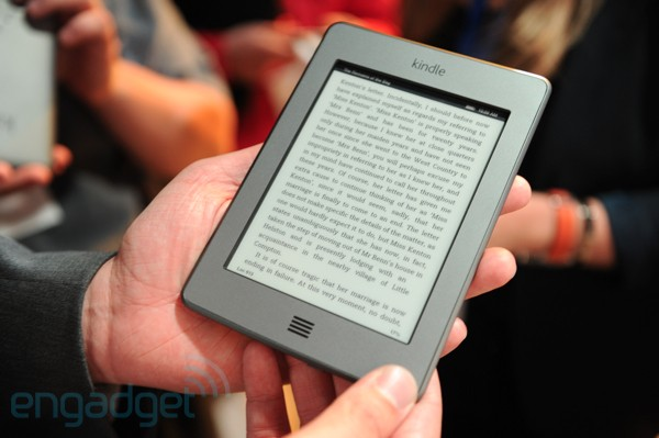 Amazon Kindle Touch, primeras impresiones