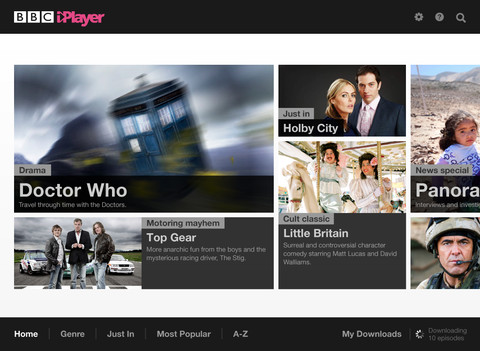 BBC actualiza iPlayer para iPad e incluye AirPlay