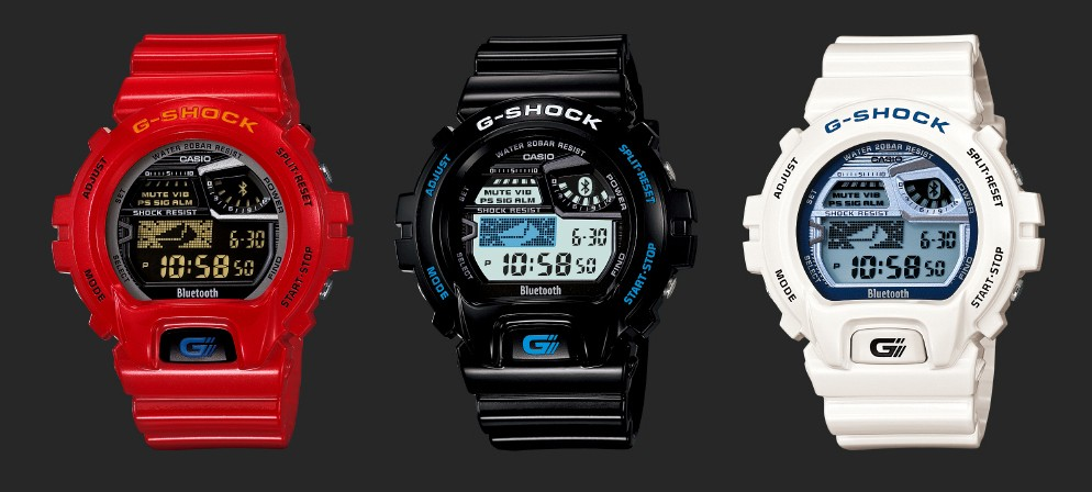 how to connect bluetooth g shock
