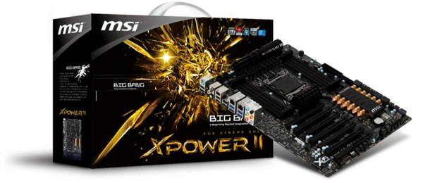 MSI lanza la placa base Big Bang-XPower II con dedicatoria para los overclockers