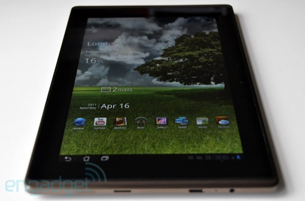 ASUS eee pad transformer TF101 Ice Cream Sandwich Android 4.0
