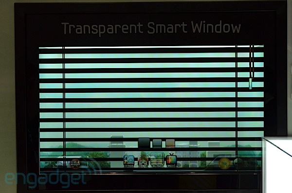 Samsung Transparent Smart Window, una ventana 'vitaminada' (con sus cortinas y todo)