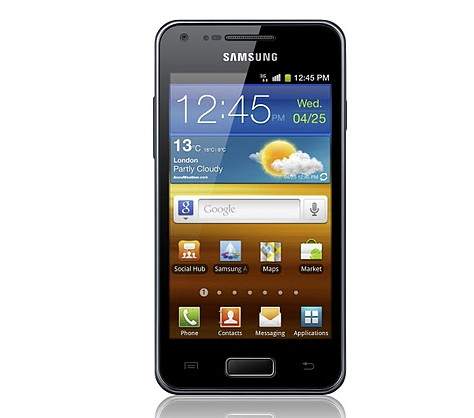 Samsung Galaxy S Advance: CPU dual core a 1 GHZ, pantalla Super AMOLED y Gingerbread para un telfono de lo ms familiar