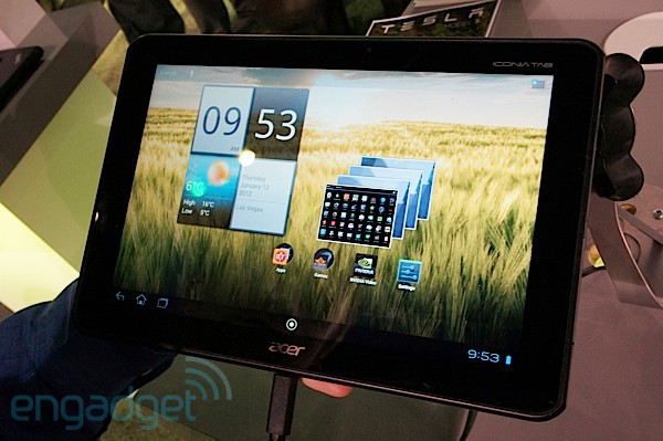 Acer Iconia Tab A510 con Tegra 3 podra llegar en abril por unos 500 euros