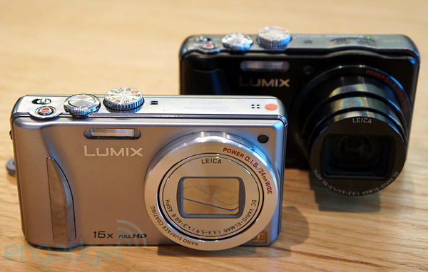 Panasonic Lumix DMC-ZS20 y ZS15 superzoom