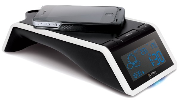 Oregon Scientific anuncia la 'Time and Wireless Charging Station+' y su larguísimo nombre