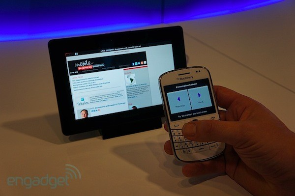 BlackBerry Bridge en PlayBook 2.0, te lo mostramos en vídeo