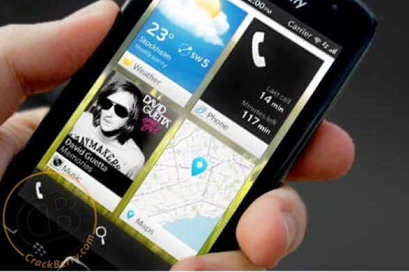 BlackBerry 10 tendra widgets, segn indican unas supuestas fotos filtradas
