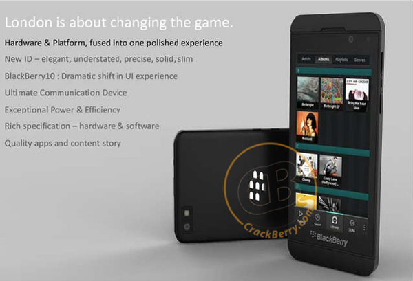 BlackBerry London vuelve a filtrarse en un detallado render