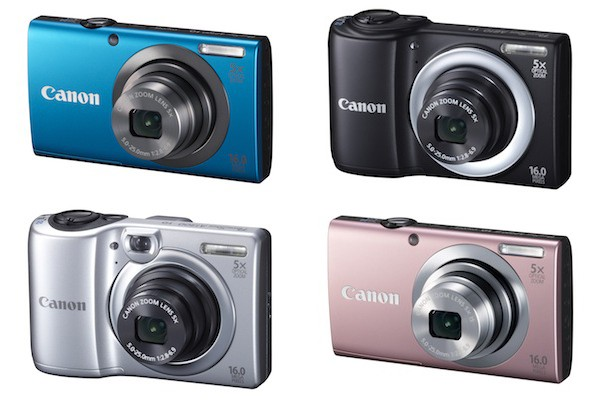 Canon presenta su nueva gama de PowerShot A con estabilizador de imagen