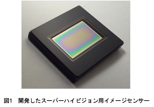 NHK anuncia un sensor Super Hi-Vision con captura 8k a 120 FPS