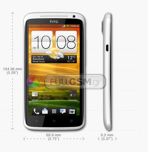 HTC One X filtrado con todo lujo de detalles: Tegra 3 y Android 4.0 para una bestezuela de 4,7