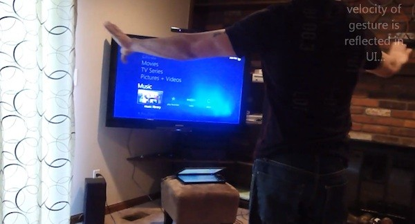Kinect para Media Center ya disponible (vídeo)