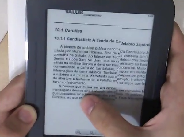 Un hack permite el refresco de pantalla en el Nook mediante un toque (vdeo)