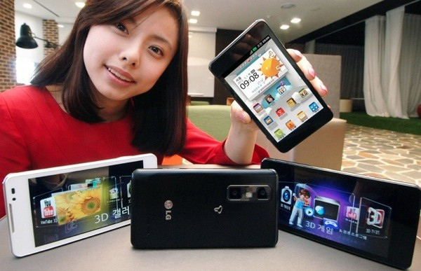 LG Optimus 3D Max MWC