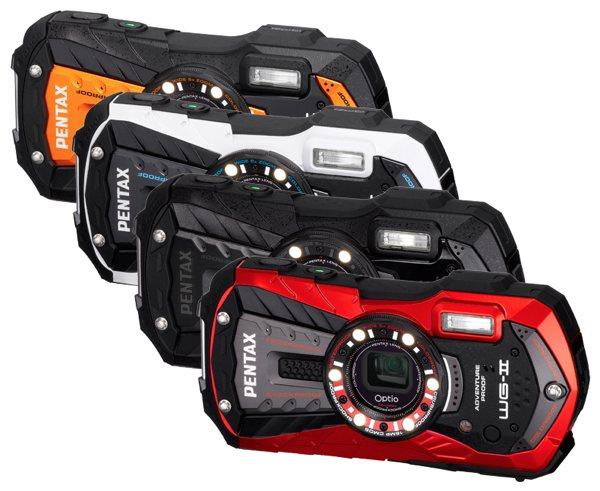 Pentax actualiza sus cmaras G.I. Joe con las nuevas Optio WG-2 y WG-2 GPS