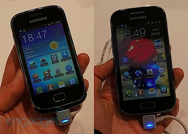 Samsung Galaxy Mini 2 y Ace 2 en nuestras manos (¡con vídeo!) - MWC 2012