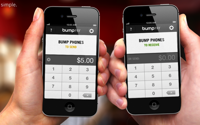 Bump se apunta al pago inalmbrico... con PayPal