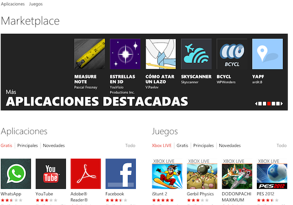 Windows Phone Marketplace disponible en Costa Rica, Venezuela y once países más