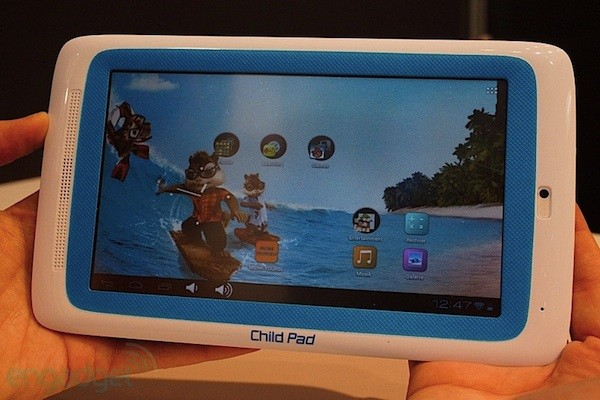 Archos Child Pad, un vistazo a la tablet para niños con ICS (¡en vídeo!) - CeBIT 2012