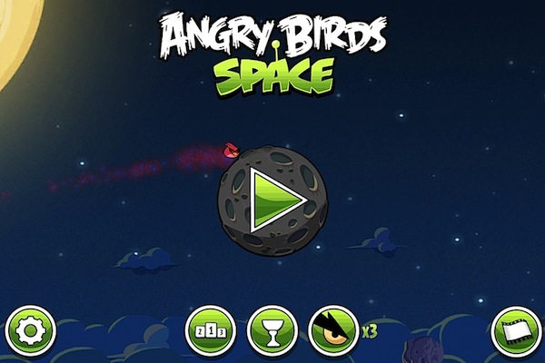 Angry Birds Space ya disponible para su descarga