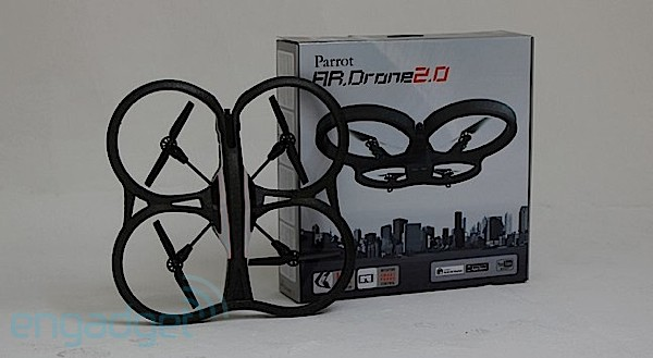 Parrot AR.Drone 2.0 inicia las maniobras de despegue en Espaa por 299 euros