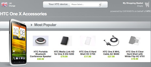 La familia HTC One comienza a recibir sus primeros accesorios cortesa de su tienda britnica