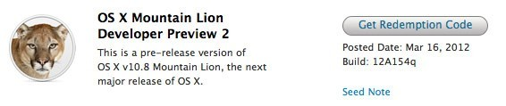 La segunda preview para desarrolladores de Mountain Lion llega con novedades para iCloud y el Centro de Notificaciones