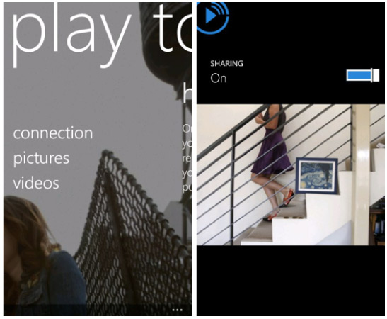 Nokia lanza Play To beta para Windows Phone y actualiza su app para música