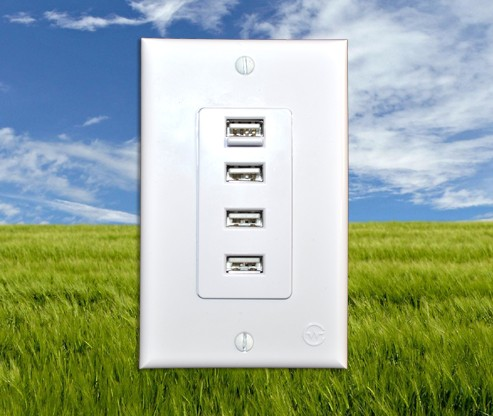 USB Outlet Quattro, el enchufe definitivo