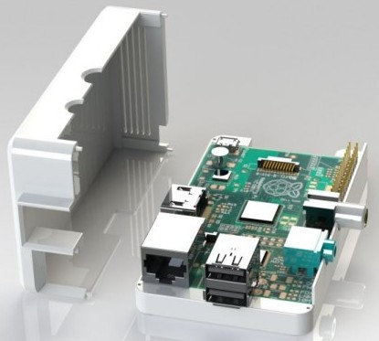 ModMyPi vender carcasas para el Raspberry Pi Model B y donar dinero