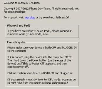 Redsn0w actualizada para hacer jailbreak a iOS 5.1 aunque sea tethered
