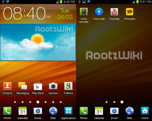 Galaxy Note: filtrada la actualización a Ice Cream Sandwich