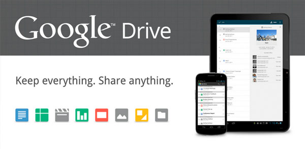 Google Drive queda al descubierto con 5 GB de almacenamiento gratuito y el anzuelo echado en territorio empresarial