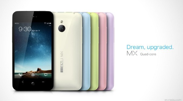 Meizu MX quad core disponible en junio, con Android 4.0 y 64 GB