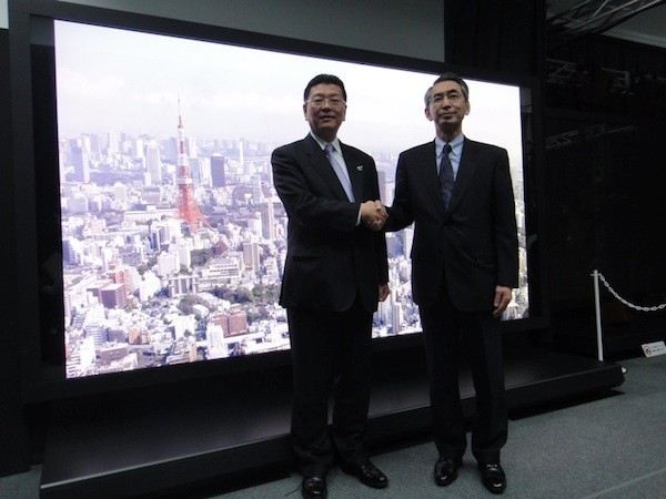 Panasonic y NHK crean un HDTV de plasma 8K Super Hi-Vision de 145 pulgadas
