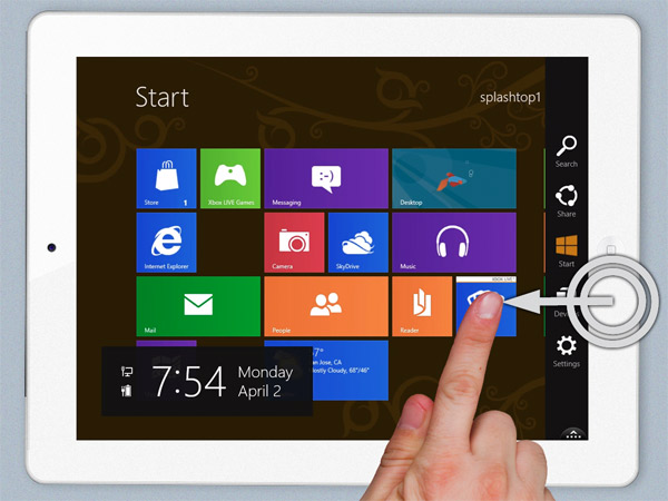 Splashtop lleva la experiencia Windows 8 Metro al iPad (vídeo)