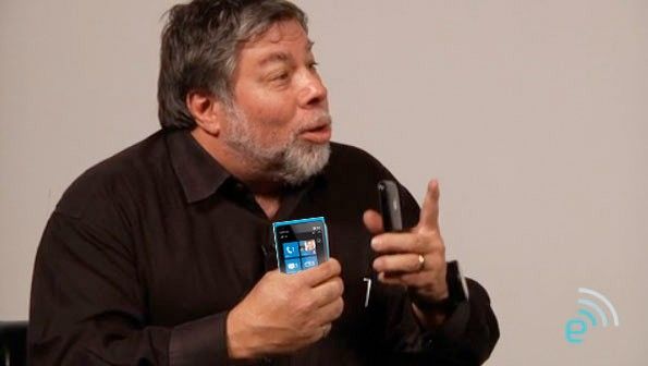 Woz, fan total de Windows Phone y el Lumia 900 