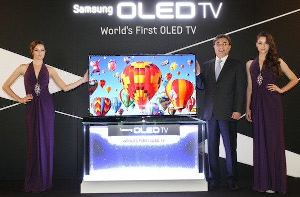 Samsung muestra un OLED HDTV de 55'' listo para comercializarse