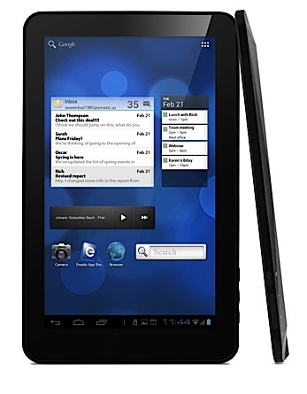 Ematic presenta eGlide XL Pro 2, un tablet 'low cost' con Android 4.0