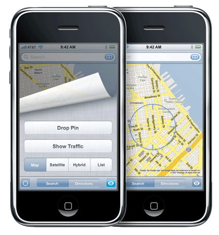 Apple usara mapas propios en iOS 6 al contrario de los de Google Maps