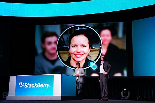 La app de cmara de BlackBerry 10 dar una 