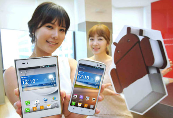Ice Cream Sandwich llega a LG Optimus LTE, LTE Tag y Vu en junio