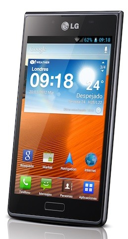 LG Optimus L7 llega a Espaa de la mano de Orange