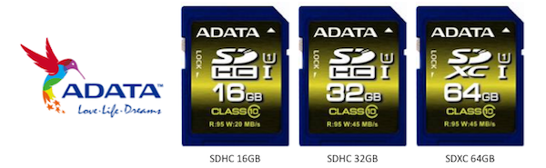 ADATA Premier Pro ampla la familia con nuevas tarjetas SDHC y SDXC