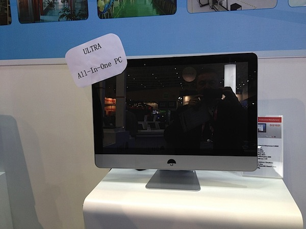 Ms falso que judas: un iMac 'champin' aparece en escena - Computex 2012
