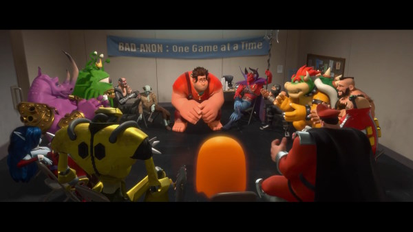 Rompe Ralph!, la fbula de Disney sobre la sufrida profesin de villano de videojuego