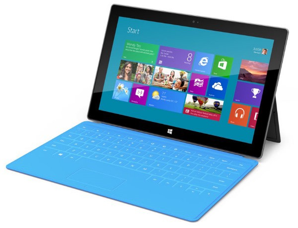 Microsoft presenta su propio tablet con Windows 8: Surface