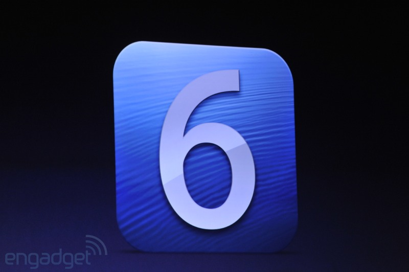 iOS 6 presentado oficialmente en WWDC 2012